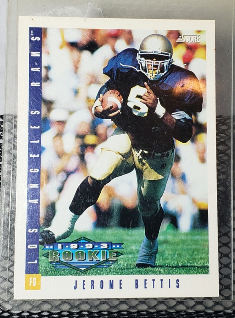 1993 Score 306 Jerome Bettis Rookie Rc