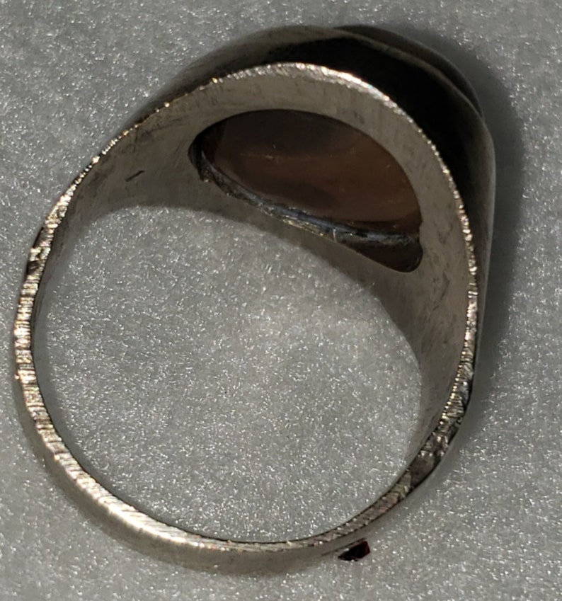 Antique Heavy Silver Ring Size 11