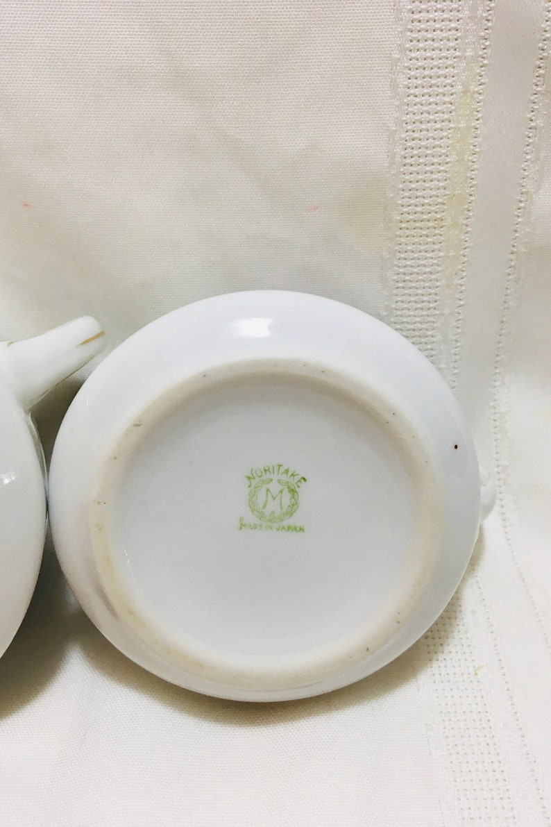 Noritake Morimura Cream /& Sugar