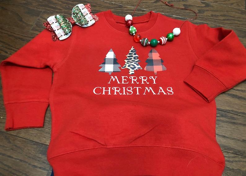 Merry Christmas sweatshirt