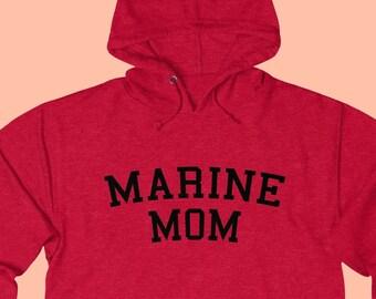 38a8e4e6721 Marine wife hoodie
