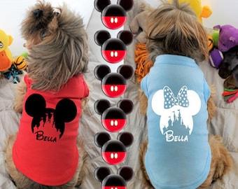 Mr. or Mrs. Mouse | Dog T Shirt | Custom Dog Shirt | Dog Tee | Dog Clothes | Cat Clothes | Cat Shirt |