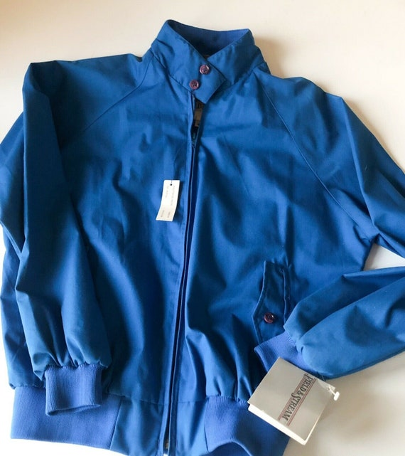 Field And Stream Vintage Bomber Jacket Royal Blue… - image 3