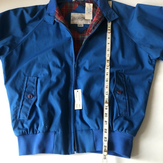 Field And Stream Vintage Bomber Jacket Royal Blue… - image 10