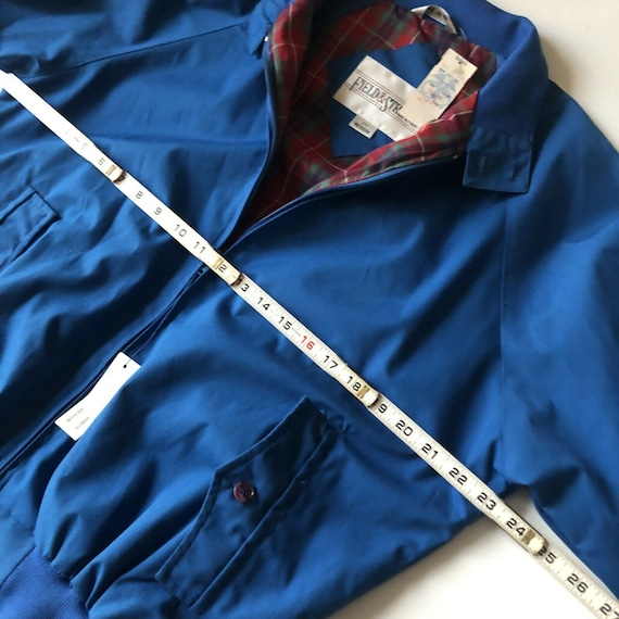 Field And Stream Vintage Bomber Jacket Royal Blue… - image 9