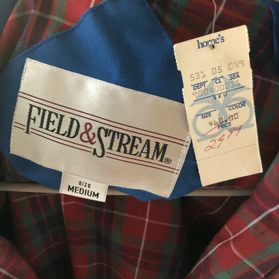 Field And Stream Vintage Bomber Jacket Royal Blue… - image 6