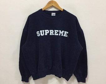 cdf090da Supreme X Champion Reverse Weave Sweatshirt supreme pullover