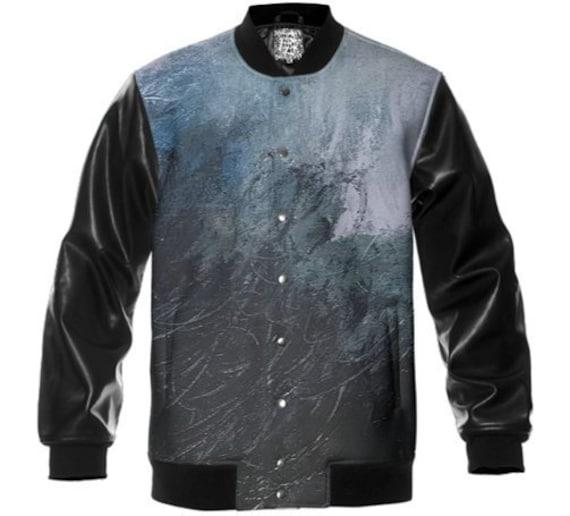 new style fd00a f582d Raven Varsity Jacket