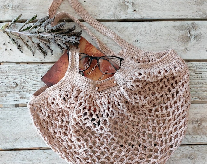 french market bag crochet expandable market bag crochet beig Crochet market bag beach bag crochet ecofriendly shopping bag handmade
