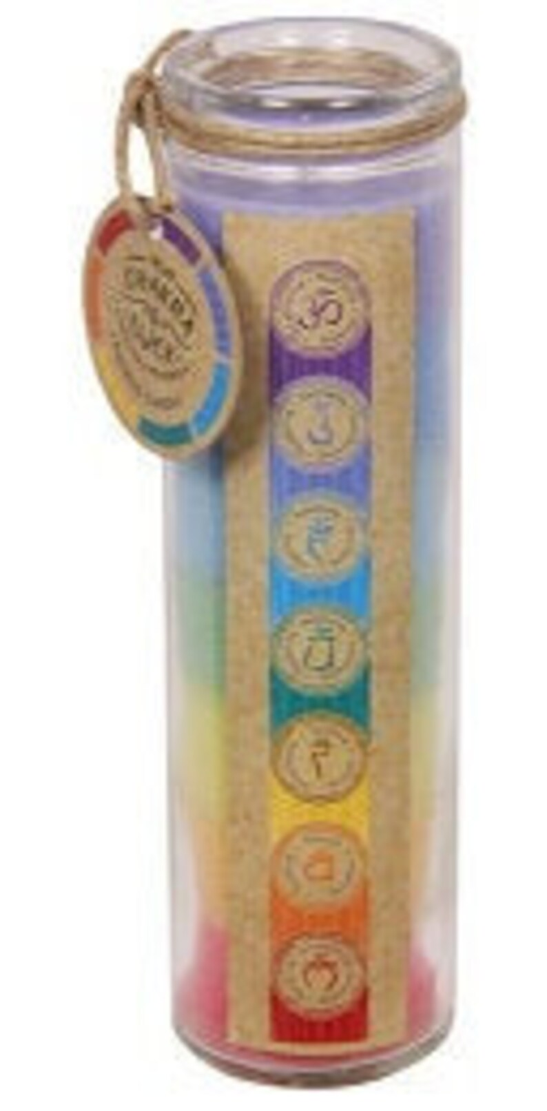 Cleansing Healing Chakra and Lucky 7 Candle Positive Vibes Good Luck