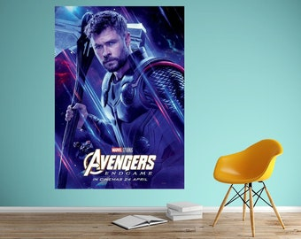Thor Poster Etsy