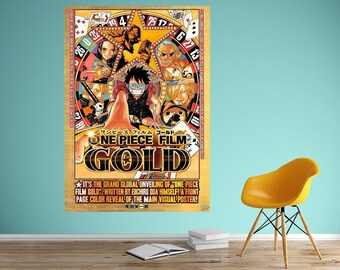 One piece poster | Etsy