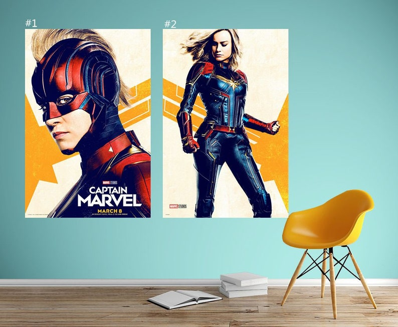 "inch 3 BRIE LARSON Poster Wall Print 24/"" x 36/"""