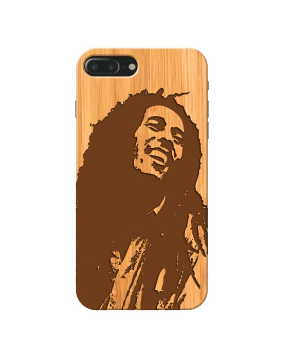 Xr 8+ 20 FE 9 Xs X iPhone 12 Mini Note 8 6+,Samsung S20 Ultra 11 Pro Max SE 7+ S8+ Wood Case 10+ UV Bob Marley S9+