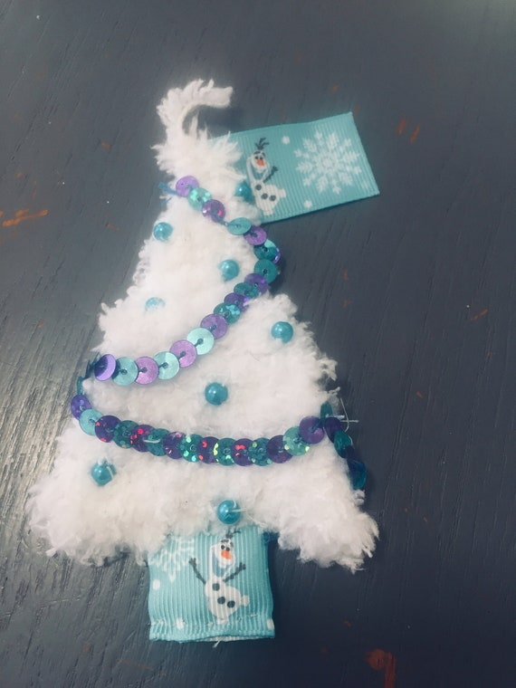 Frozen Christmas Decorations.Inspired By Frozen Xmas Tree Decoration Gift Tag