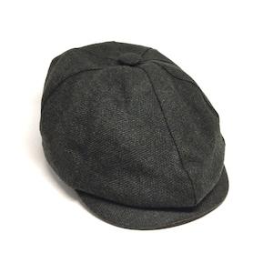 Baker Boy Floral Hat Navy Herringbone Wool 8 Panels Cap Peaky Blinders Hat Newsboy Cap Christmas Gift Irish flat cap Gatsby Hat
