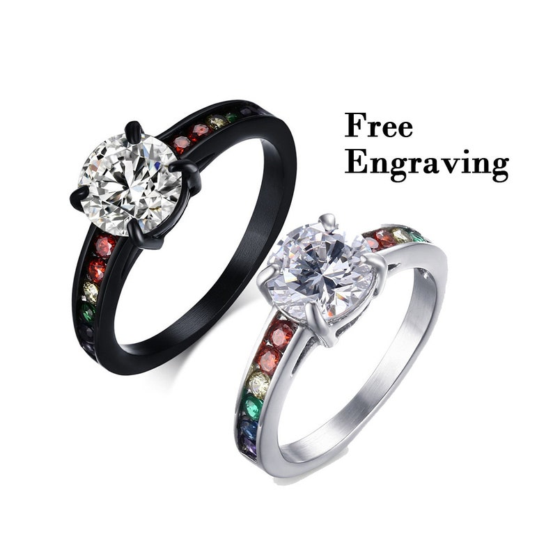 What is the meaning of a black ring