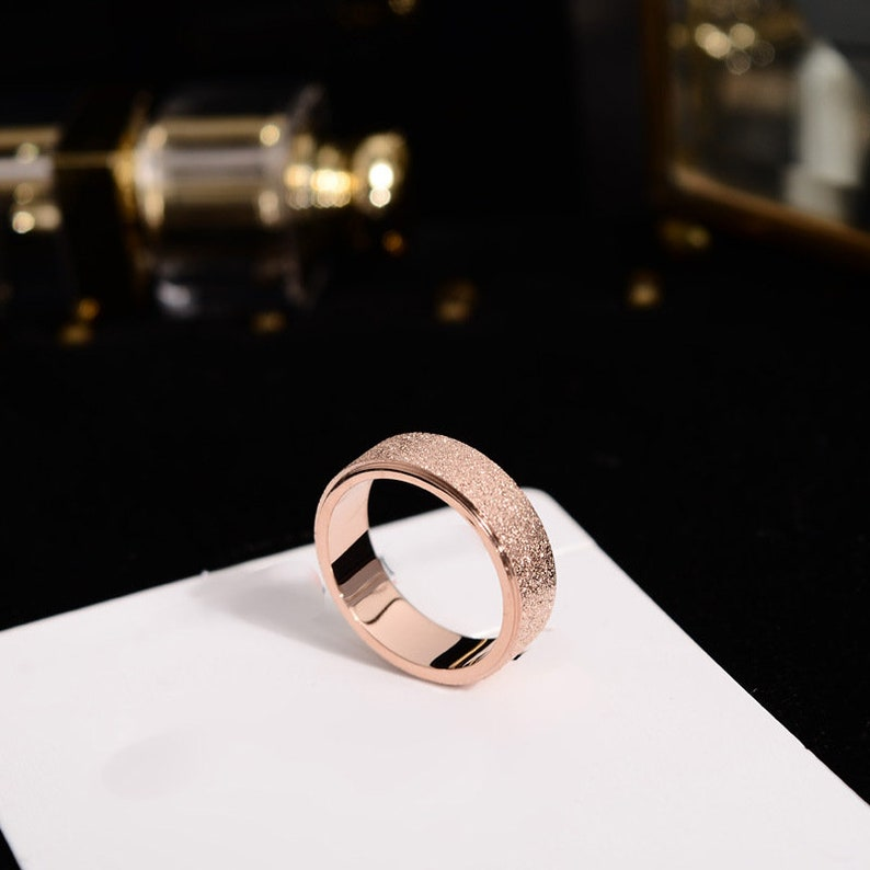 Promise rings for couples,couple rings,wedding rings type 316 stainless steel,Wedding ring set his and her,couples gift boyfriend