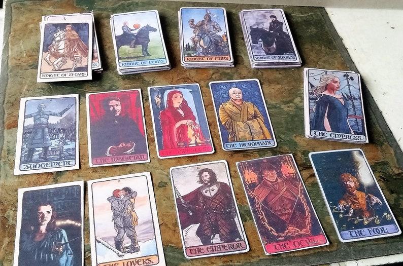 Resultado de imagem para tarot game of thrones