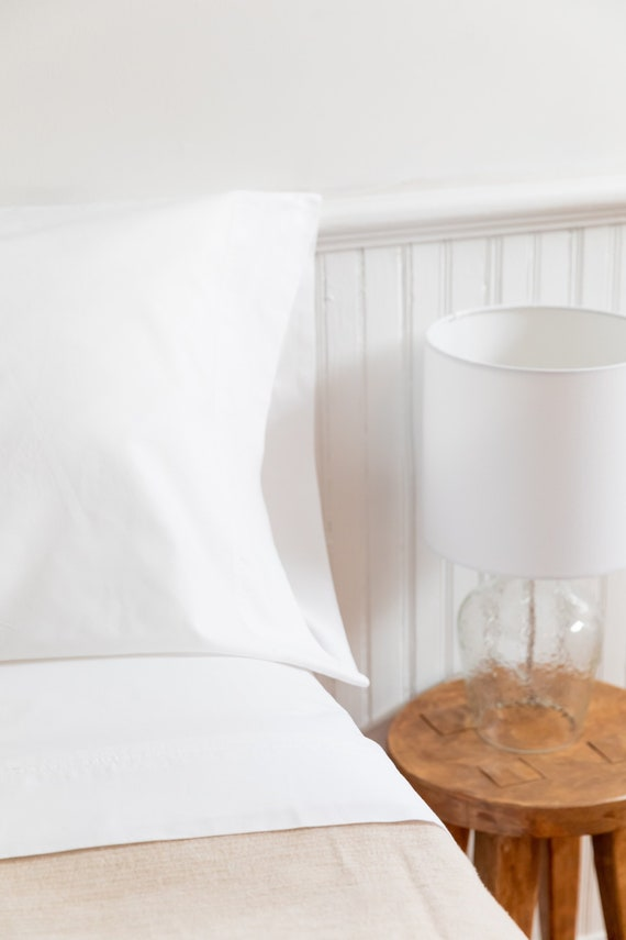 Egyptian Cotton Sheet Set 300 Percale White Etsy,Best Color Paint For Bedroom 2020