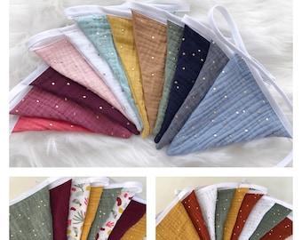 Garland pennant fabric / garland pennant