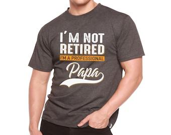 Spun Bamboo My Favorite People Call Me Dad Men/'s Bamboo ViscoseOrganic Cotton Short Sleeve T-Shirt