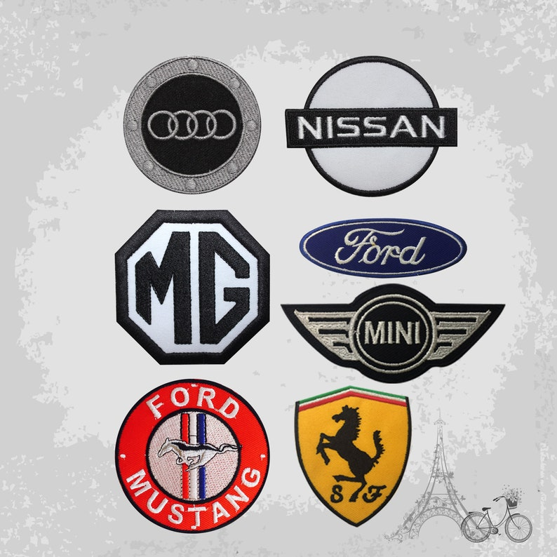 Ferrari Sports Cars Motorsport Racing logo patch Jacket T-shirt Sew Iron on Patch Badge Embroidery
