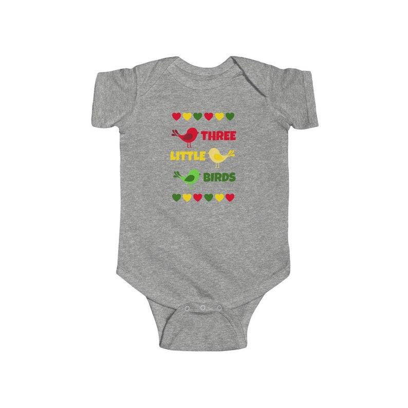 Three Little Birds Infant Fine Jersey Bodysuit