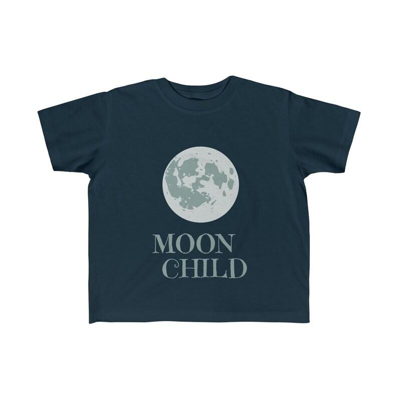 Moon Child Kid/'s Fine Jersey Tee