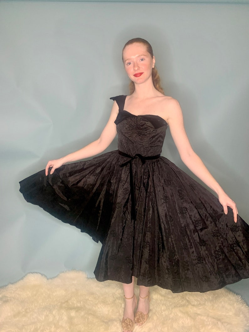 GORG Glam Mad Men Style 1950/'s Cocktail Dress