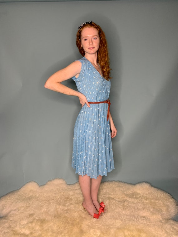 1970's LightWeight Belted Sundress