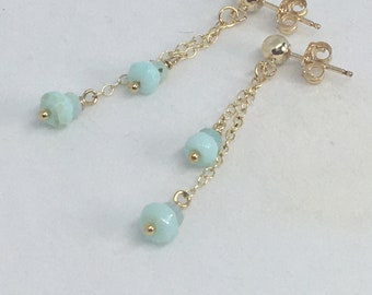 Designer Quality Green Amethyst Sterling Silver Lobster Clasp South Sea Pearl focal Necklace Faceted 14k GF Bali Sterling Silver