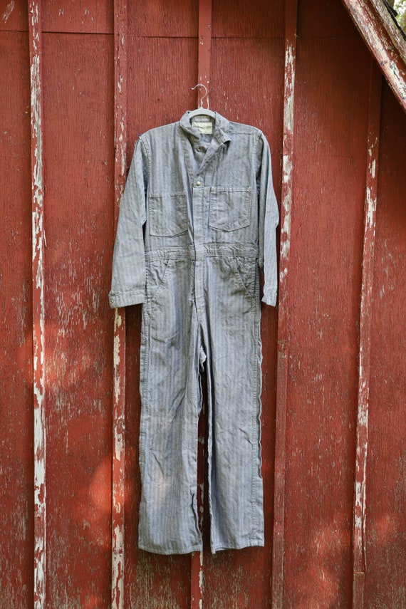 Stone Cutter vintage Herringbone Coveralls. Size 3