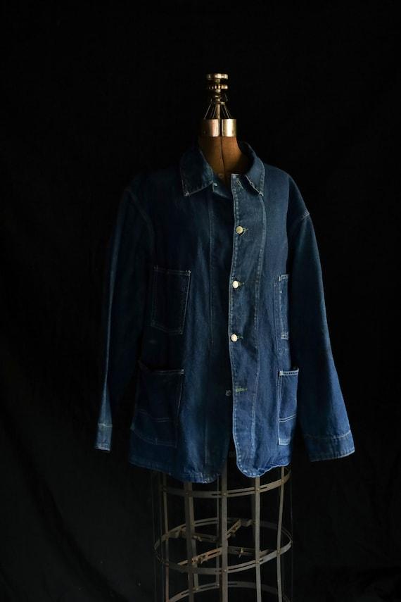 Vintage Osh Kosh Denim Chore Coat