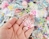 SAMPLER SETS Variety Fake Polymer Clay Sprinkle Sets, Assorted Polymer Clay Sprinkles, Glitters, Resin Nonpareils, Pick Your Amount photo