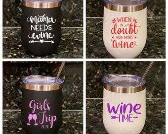 Linewife Wine Wife Lineman Gift Love Line man Wine Glass Linewives Line Wife Wine Life Stemless Glass Tramp Life Linewife Wine Glass