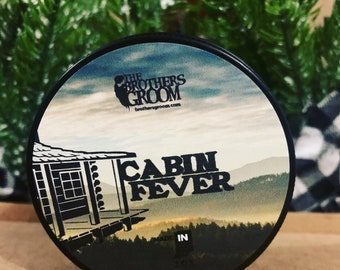 Cabin Fever Beard Balm - Handcrafted / Handmade - FREE SHIPPING