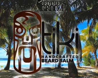 TIKI Beard Balm - Handcrafted / Handmade - FREE SHIPPING