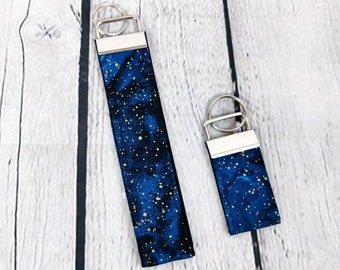 Wristlet Key Fob - Milky Way Galaxy - Mini Key Fob