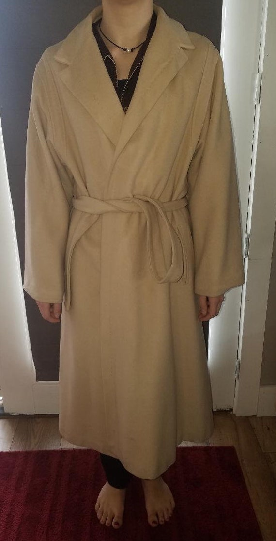 Vintage Chinese Cashmere Wrap Coat