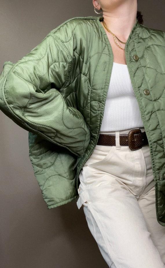 Vintage Army Liner Jacket