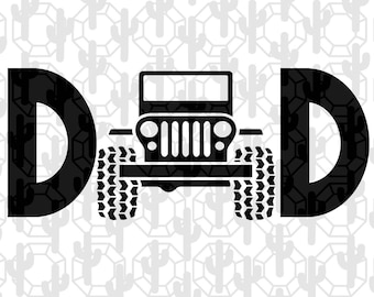 Dad Svg Gift Shirt Birthday Awesome From Children Jeep Driver Lover Party