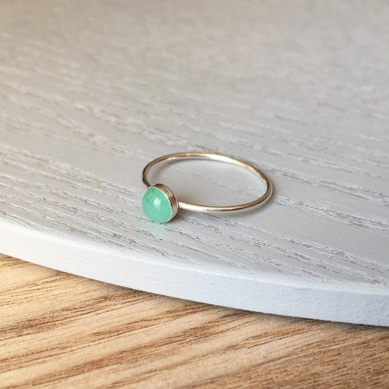 Infant Loss Birthstone Ring image 0