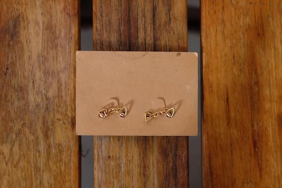 1930s1940s Lion Brand Rolled Gold Cufflinks Circa