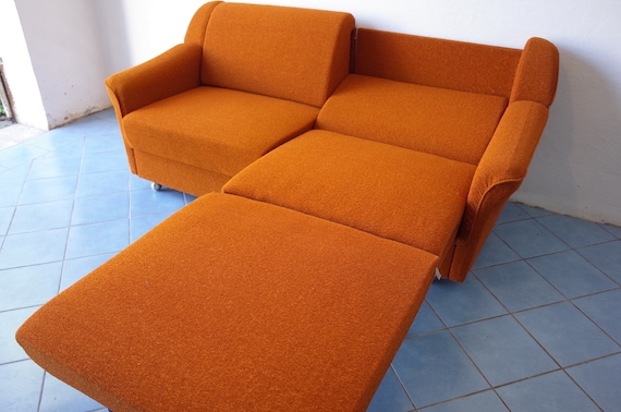 Sensational 70S Sofabett Mid Century Gdr Culture Vintage Sofa Bed Gdr Design Gmtry Best Dining Table And Chair Ideas Images Gmtryco