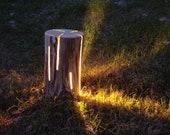 Wooden floor Lamp-modern design-atmosphere-furnishing-soft light