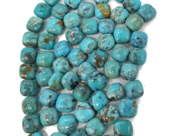 Smooth Polish Fine Quality Turquoise Pendant Gemstone For Jewelry Making 37x19x8 MM Nacozari Turquoise Cabochon,Turquoise Healing Gemstone