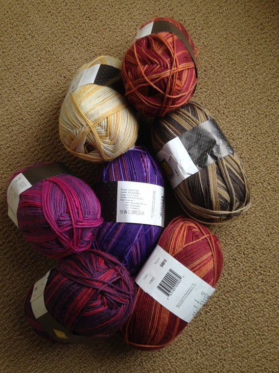 50/% Off Silk Indulgence KFI Sock Yarn Superwash Wool Fingering Sport 410 Yards 150 grams