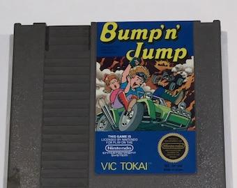 Bump 'n' Jump - Nintendo NES - Original Game Cart - Tested & Working