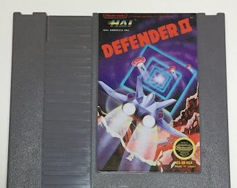 Defender II - Nintendo NES - Original Game Cart - Tested & Working